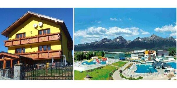 Pobyt pod Belianskymi Tatrami nabitý atraktívnymi zážitkami a relaxom
