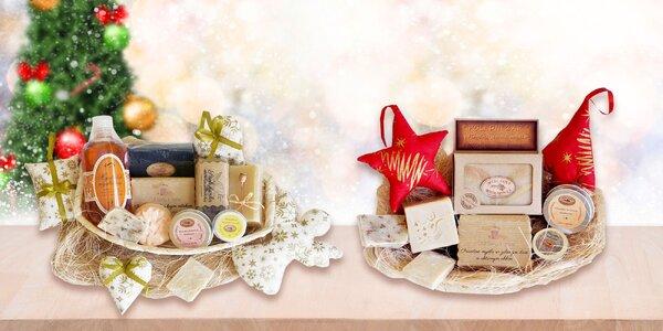 Darčekové balíčky s prírodnou kozmetikou