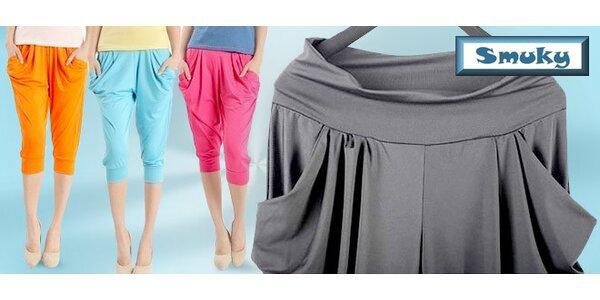 Dámske háremové nohavice