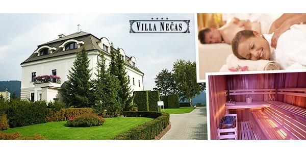Luxusný wellness pobyt vo Ville Nečas