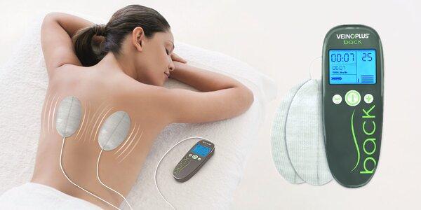 Elektro-stimulačný prístroj na bolesti chrbta