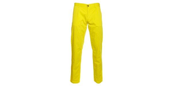 Pánske kanárikovo žlté chino nohavice Pietro Filipi
