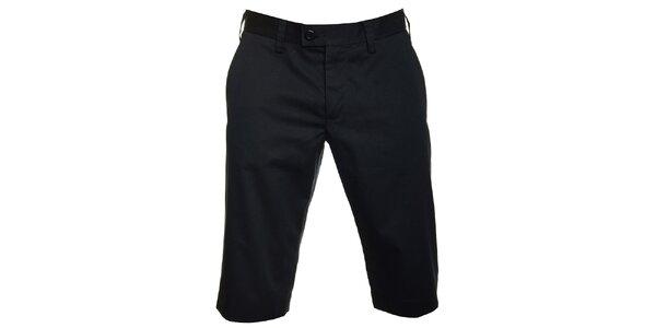 Pánske čierne šortky Pietro Filipi