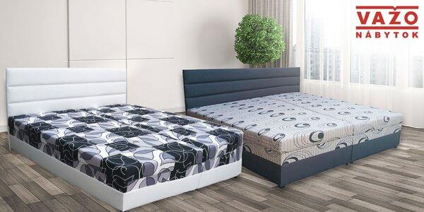 Kvalitné manželské postele od slovenského výrobcu