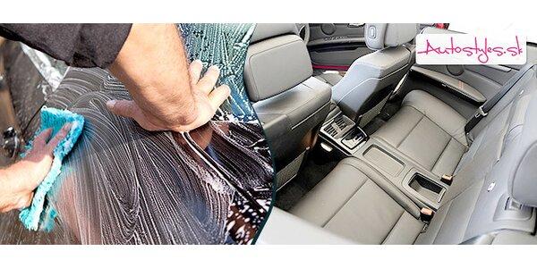 Kompletné ručné umytie auta