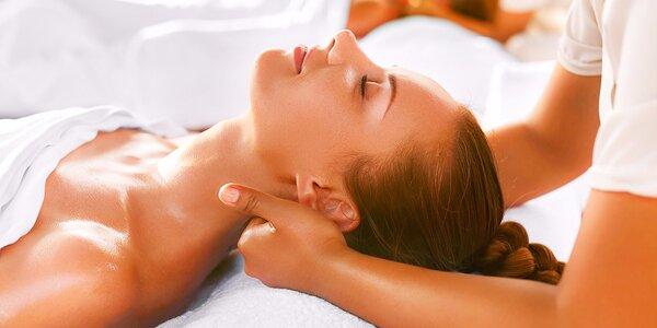 Komplexná alebo klasická masáž s infra lampou