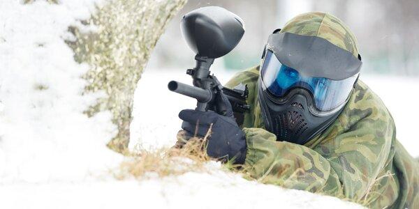 Denný alebo nočný paintball - hrajte aj v zime!