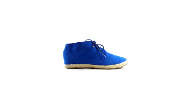 Dámske modré semišové tenisky Shoes in the City