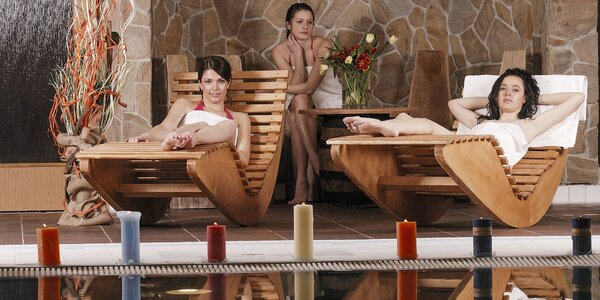 Wellness balíčky s masážami v Šariš relax centre