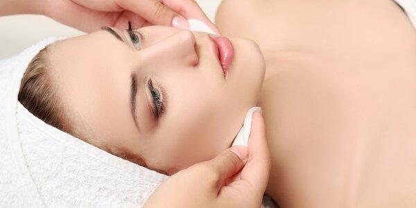 Hĺbkové ošetrenie s možnosťou masáže tváre