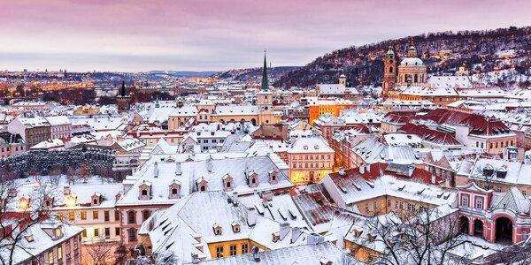 Zimná Praha: apartmán pre pár alebo rodinu