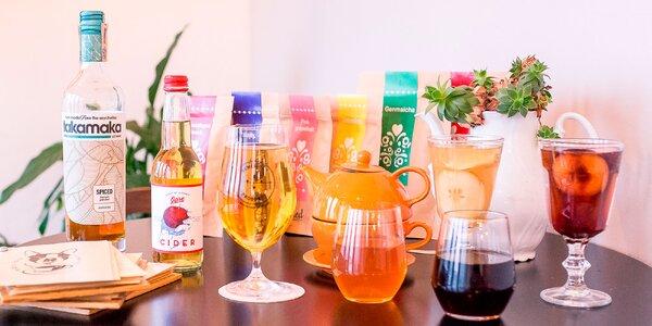 Alko aj nealko nápoje na zahriatie v Boston Café