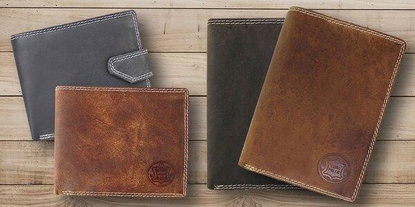 Peňaženky Vera Pelle z pravej brúsenej kože