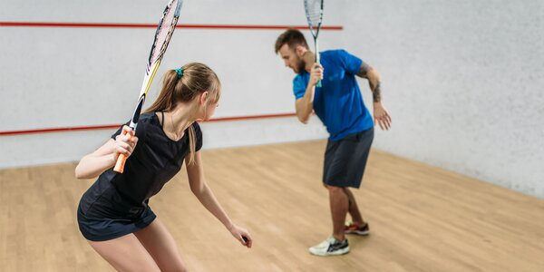 Squash pod vedením skúseného trénera