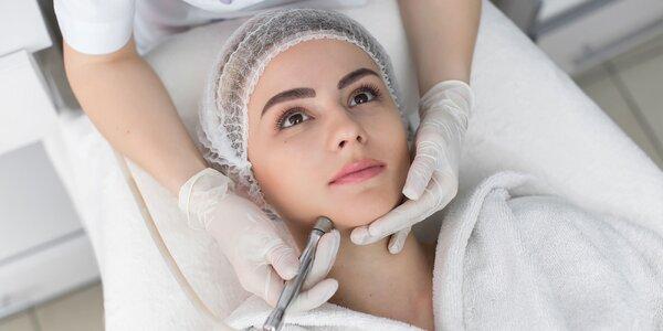 Diamantová mikrodermabrázia alebo relaxačné ošetrenie pleti