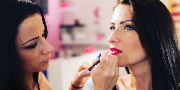 Profesionálny make-up na všetky príležitosti