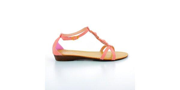 a48275f476ff8 Dámske červené sandálky s kameňmi GirlHood