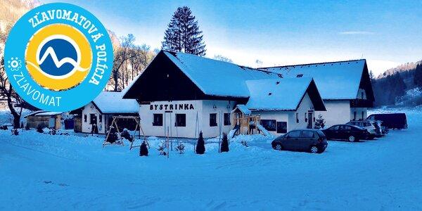 Wellness pobyt s lyžovačkou v Penzióne Bystrinka pre celú rodinu