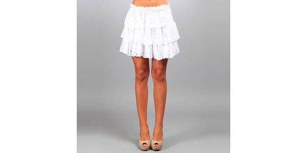 Dámska biela čipková sukňa Des Si Belles