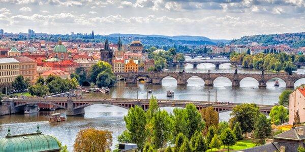 Praha: romantická vyhliadková plavba po Vltave