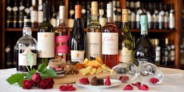 Dokonalý valentínsky večer s ochutnávkou vína