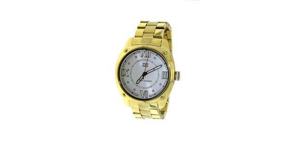 Dámske zlatené náramkové hodinky Tommy Hilfiger