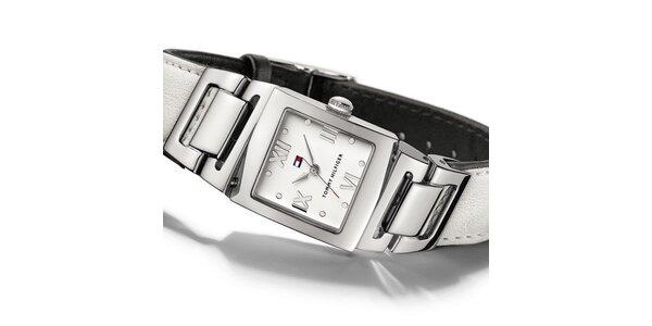 Dámske biele náramkové hodinky Tommy Hilfiger