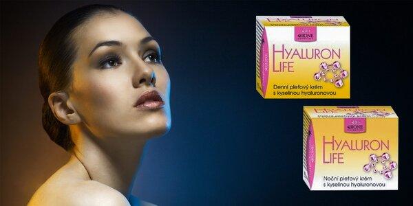 Denný alebo nočný pleťový krém s kyselinou hyalurónovou