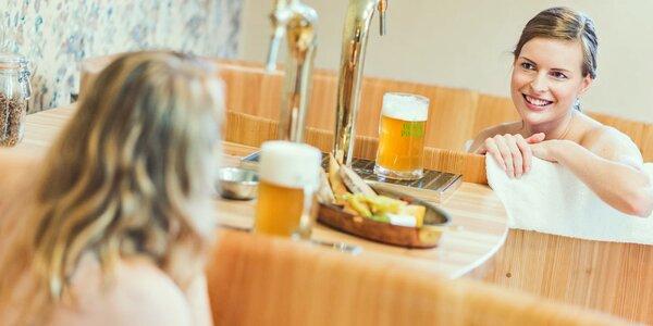 Pobyt v rodinnom pivovare s jedlom aj pivnými kúpeľmi pri Prahe