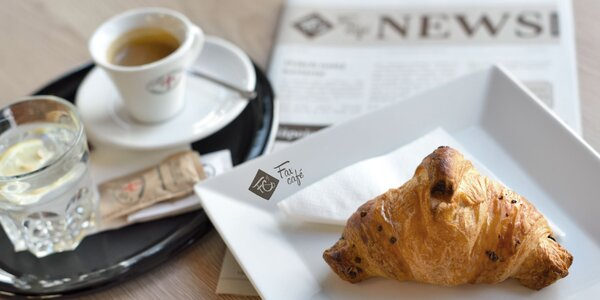 Raňajkové menu vo FaxCafé podľa vášho výberu