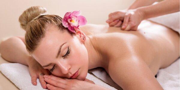 Klasická relaxačná a medová masáž