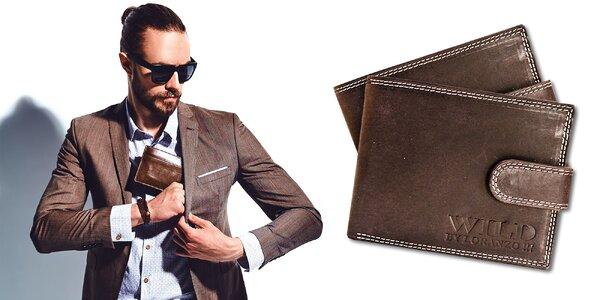 Pánska kožená peňaženka Wild by Loranzo
