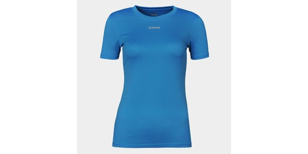 Dámske modré funkčné tričko Sweep