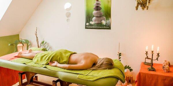 Uvoľňujúci ayurvédsky masážny balíček+darček!