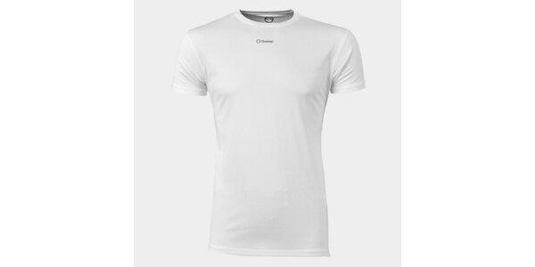 Pánske biele funkčné tričko Sweep