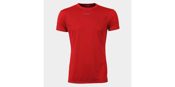 Pánske červené funkčné tričko Sweep