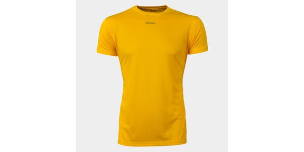 Pánske žlté funkčné tričko Sweep