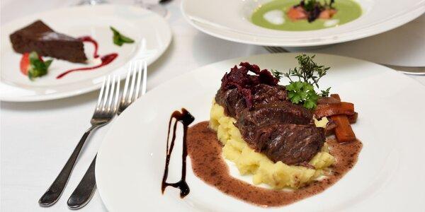 Degustačné menu plné lásky pre 2 osoby