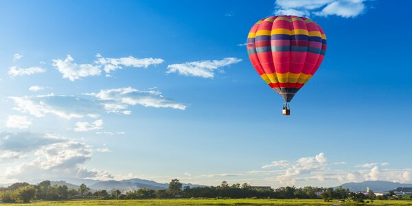 Vyhliadkový let balónom ponad Košice a okolie
