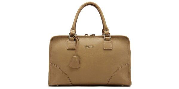 Dámska béžová kufríková kabelka Florian London