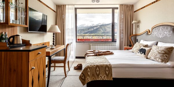 Relax na poľskej strane Tatier v hoteli Mercure Kasprowy