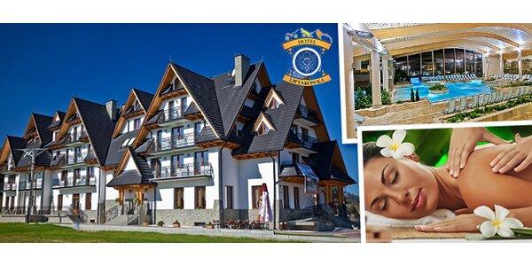 Wellness v poľských Tatrách v hoteli Liptakówka***
