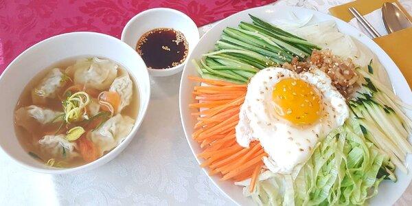 3-chodová večera pre dvoch v ázijskom štýle