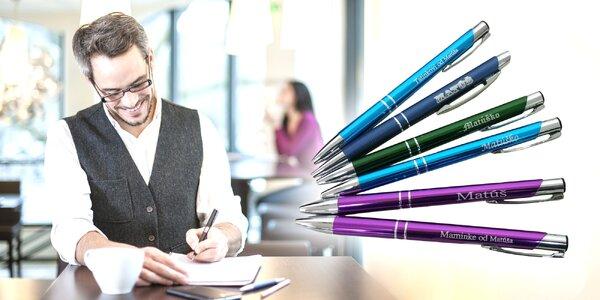 Gravírované guľôčkové pero