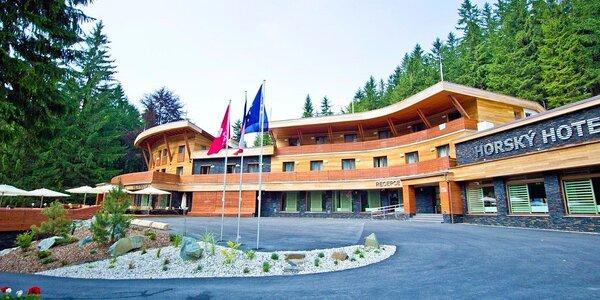 Jar v horskom hoteli v Beskydách s wellness