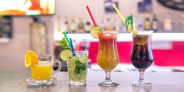 Miešané nápoje (alko/nealko) alebo horúci džús