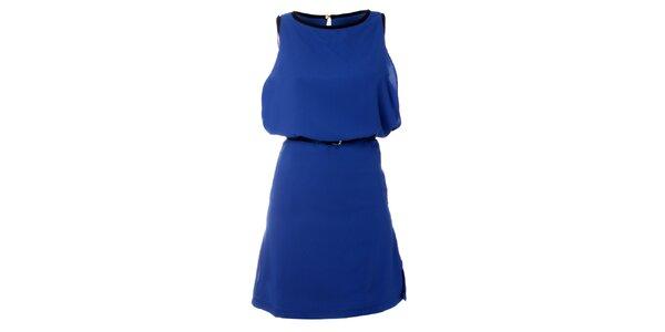 Dámske modré šaty Kzell