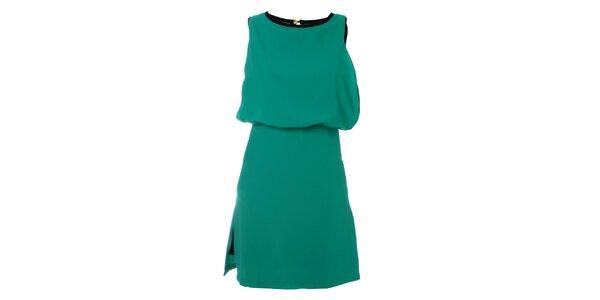 Dámske tyrkysové šaty Kzell