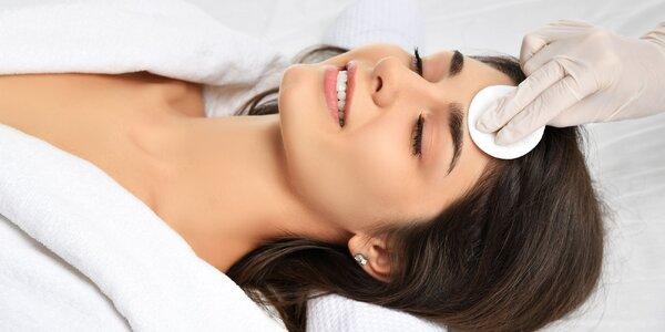 Rôzne ošetrenia tváre v salóne Golden Relax