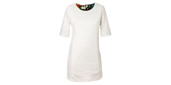 Dámske biele šaty Kzell